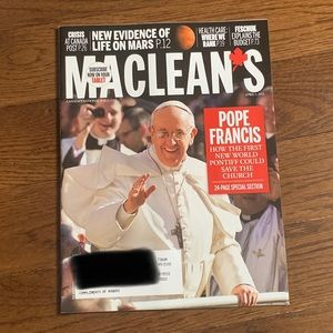 Maclean's Magazine - April 2013 - Pope Francis